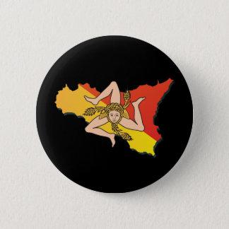 La Trinacria Button