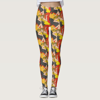 La Trinacria Leggings