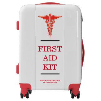 La trousse médicale de premiers secours valises