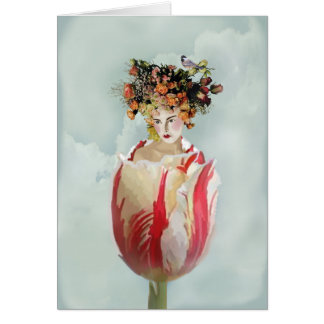 La Tulipe Thank you Card