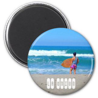 La Union Philippines 2 Inch Round Magnet