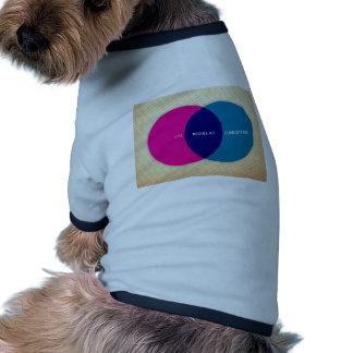 La vie commence à la conception vêtement pour chien