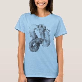 La vie d'une chemise de dames d'artiste t-shirt
