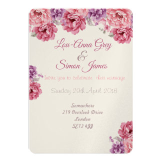 La vie en rose card