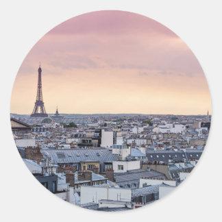 La Vie En Rose Eiffel Tower Photo Sticker