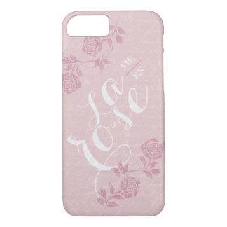 La vie en rose. iPhone 8/7 case