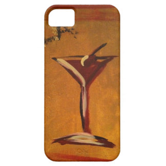 """LA VIE EN ROSE"" MARTINI GLASS PRINT iPhone 5 COVERS"