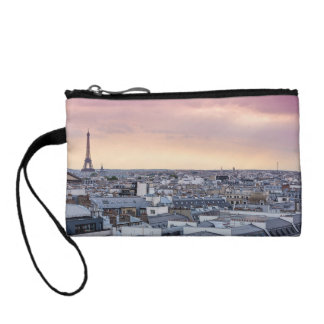 La Vie En Rose Paris Eiffel Tower Wrislet Coin Wallet
