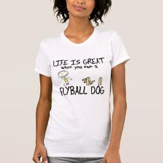 La vie est grand Flyball T-shirt