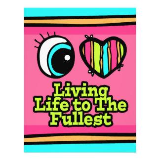 La vie vivante d'oeil d'amour lumineux du coeur I  Tract