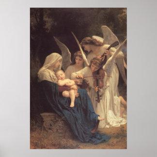 La Vierge Aux Anges Poster