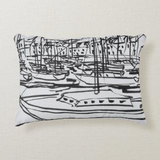 La Vilaine River | La Roche-Bernard, Brittany Accent Pillow