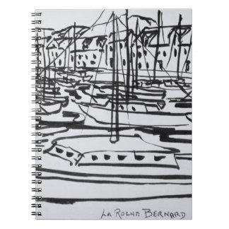 La Vilaine River | La Roche-Bernard, Brittany Notebook