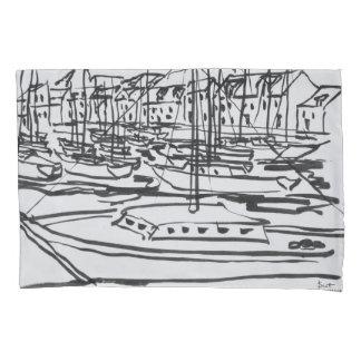 La Vilaine River | La Roche-Bernard, Brittany Pillowcase