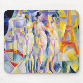 La Ville de Paris by Robert Delaunay Mouse Pad