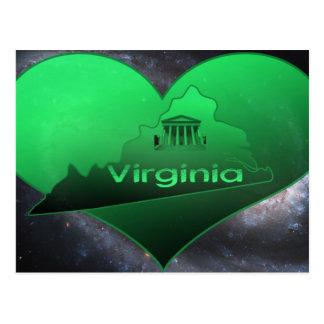 La Virginie à la maison Cartes Postales