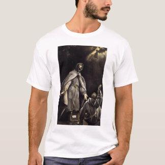 La vision du St Francis de la torche flamboyante T-shirt