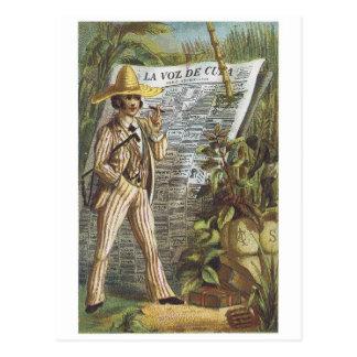 La Voz de Cuba Postcard