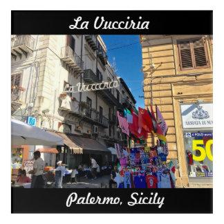 La Vucciria (Chaos) in Palermo, Sicily Acrylic Print