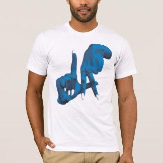 LA White + Back T-Shirt