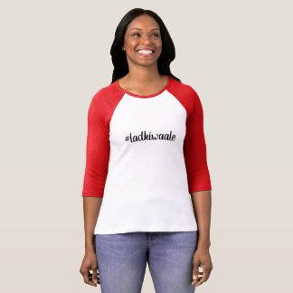 Laadkiwale bridesmaid family long sleeve tshirt