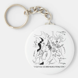 Lab Cartoon 6291 Keychain