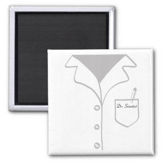 Lab coat magnet - fully customizable!