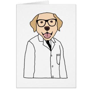 Lab Dog Card