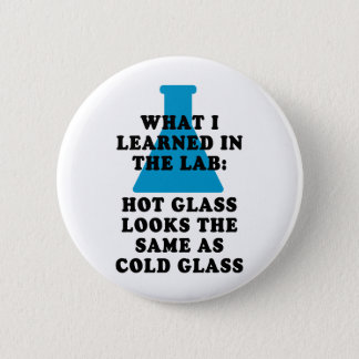 Lab Glass 2 Inch Round Button