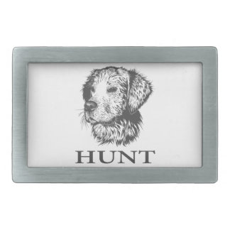 Lab Hunt Belt Buckle