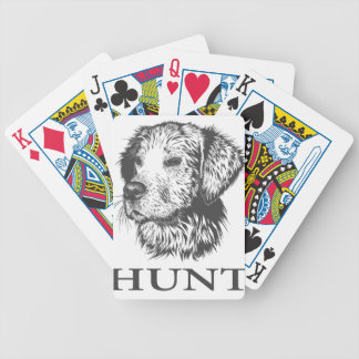 Lab Hunt Bicycle Playing Cards