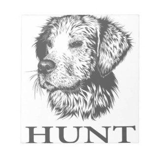 Lab Hunt Notepad