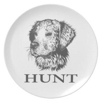Lab Hunt Plate