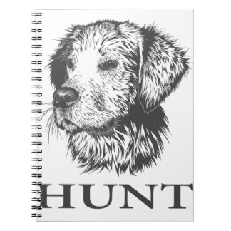 Lab Hunt Spiral Notebook
