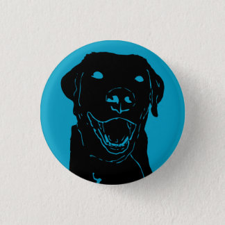 Lab Love 1 Inch Round Button