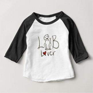 Lab Lover Baby 3/4 Sleeve Raglan Shirt