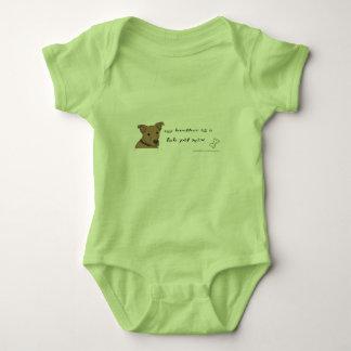 lab pit mix baby bodysuit