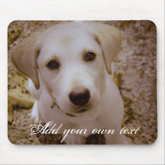 Lab Puppy Mousepad
