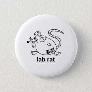 Lab Rat 2 Inch Round Button