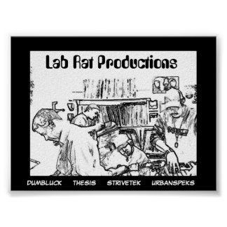 Lab Rat Productions Poster