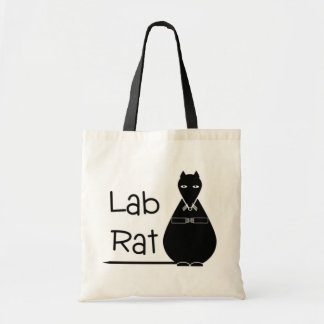 Lab Rat tote bag or book bag