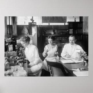 Lab Rats, 1912 Poster