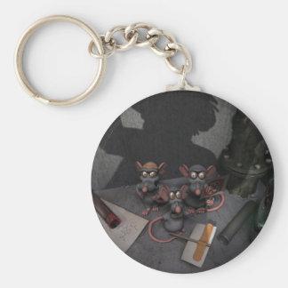 Lab Rats Unite Keychain