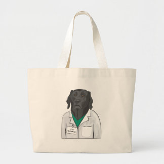 Lab Technician Large Tote Bag
