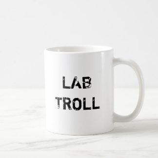 Lab Troll Classic White Coffee Mug