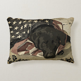 Lab with many duties decorative pillow