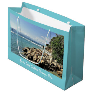 Labadie Seascape No. 2 Custom Large Gift Bag