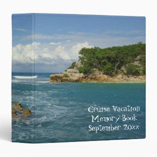 Labadie Seascape Vacation Memory Book Vinyl Binder