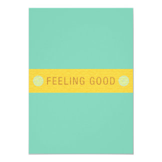 LABEL2 FEELING GOOD LAUGH HAPPY MOTTO SAYINGS ATTI CARDS