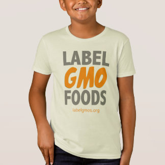 Label GMO Foods T-Shirt